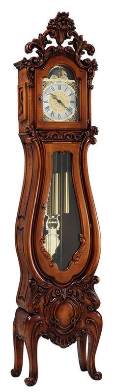 i like a little curve on mine. grandmother clock.