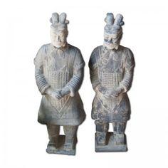 Guerreros de Xiam. Figuras de terracota