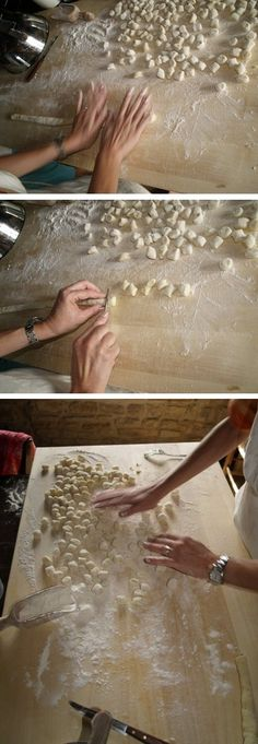 Hand-made pasta in Umbria http://www.book-a-break.com/en/properties/1309,agriturismo-meone-vecchio/