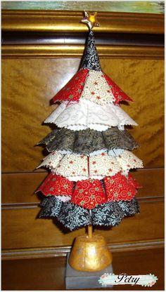 Arbol de navidad textil. www.petry.es