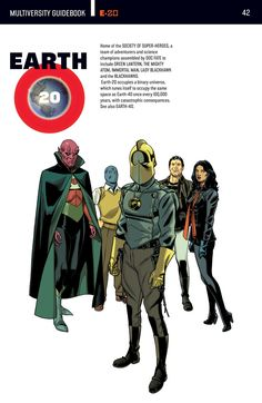 The DC Multiverse: Earth 20 - Visit to grab an amazing super hero shirt now on sale!