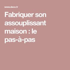 Fabriquer son assouplissant maison : le pas-à-pas Diy Cleaning Products, Diy And Crafts, Homemade, Sprays, Marie, Household, Laundry, Budget, Laundry Room