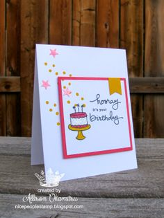 nice people STAMP!: Endless Birthday Wishes Card