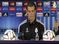 Youtube Real Madrid-Sevilla: conferencia de prensa de Gareth Bale