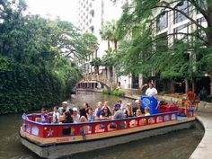 Boat Cruise on the San Antonio River