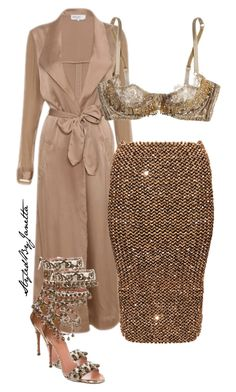 """""""Untitled #44"""" by styledbyjanetta on Polyvore featuring Agent Provocateur and Alaïa"""