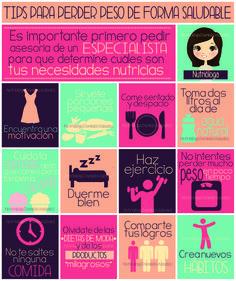 #tips para perder #peso de forma #saludable  @danyvaladezm  #nutricion #dieta #nutriologa