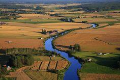 Lapua river, South Ostrobothnia province of Western Finland. - Etelä-Pohjanmaa,
