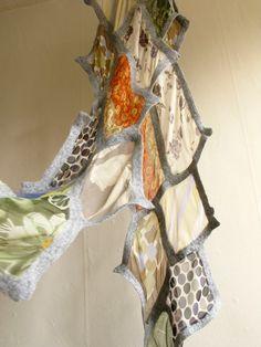 gray nuno felt scarf wrap shawl   via Etsy
