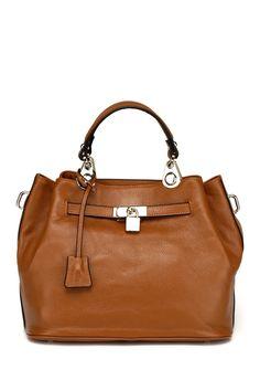 Vicenzo Leather   Phebean Leather Satchel   HauteLook