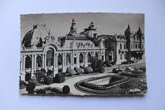French antique postcard photograph 'le Casino' Monaco