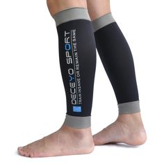 a84f48657a Calf Compression Sleeves for Men Women, Compression Leg Sleeve by DECEYO.  GRADUATED COMPRESSION SLEEVES