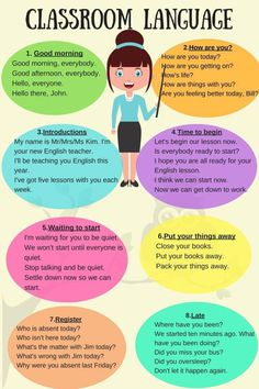 How To Produce Elementary School Much More Enjoyment Classroom Language For English Teachers - Esl Buzz English Tips, Kids English, English Study, English Lessons, British English, Teaching English Grammar, English Language Learners, English Vocabulary, Learning English