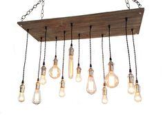 Urban Chandelier   Industrial Lighting 12 by IndustrialLightworks, $415.00