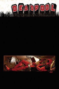 #Deadpool #Fan #Art. DEADPOOL #54 Cover) By: DAVE JOHNSON. (New No Text!)