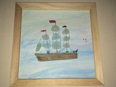 """A calm Sail 14"""" x 14"""""""