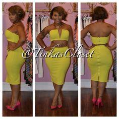 #Fashion #Style #FashionFinds Tinka's Closet  - LIMEARITA 2 PIECE, $68.00 (http://www.tinkascloset.com/limearita-2-piece/)