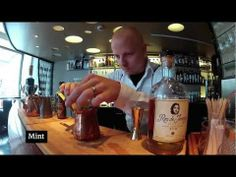 ▶ How to make Ronlicious Honey Julep by Pekka Välitalo - Ron De Jeremy Cocktail Challenge 2012 - YouTube