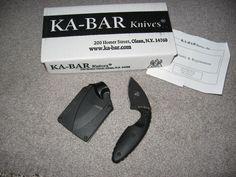 Ka-Bar TDI Law Enforcement Tactical Fine Blade Knife w/quick draw sheath