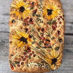 Art Du Pain, Pan Focaccia, Focaccia Bread Recipe, Sourdough Bread, Recipes Using Ground Beef, Bread Art, Keto Biscuits, Taste Of Home, Bread Baking