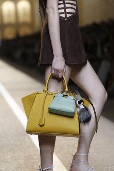 Fendi Ready To Wear Spring Summer 2015 Milan. Bags ... 4d2cd8d1ba00b