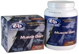 Muscle Gain™  •Available in Chocolate and Vanilla  •Offered in pouches and canisters  •25 grams of high-quality, easily digestible protein   •Provides nutritional support for increasing muscle mass  •Supports muscle-enhancing enzymes and metabolic processes   •Helps maintain & restore energy supplies during and after physical activity  www.advocare.com/10089965