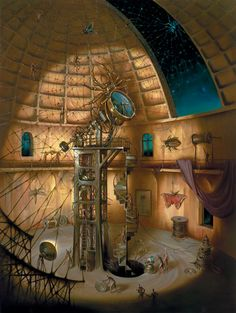 Title : Webmaster. I'm a fan of the works of Vladimir Kush. You will see quite a bit of his work on this board.