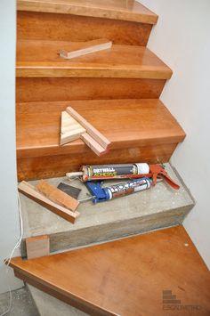 Resultado de imagen para como cubrir escaleras