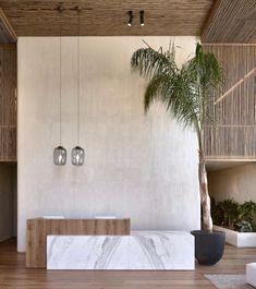 Astonishing Minimalist Interior Zen Ideas – Home Office Design Diy Modern Minimalist Bedroom, Minimalist Kitchen, Minimalist Interior, Minimalist Decor, Design Entrée, Lobby Design, Design Room, Mediterranean Architecture, Mediterranean Decor