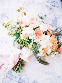 gorgeous pastel bouquet