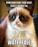 Grumpy Cat sings