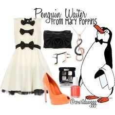 Penguin Waiter-Mary Poppins