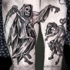 LustAndConsume – Les tatouages mystiques et ésotériques de Phil Tworavens