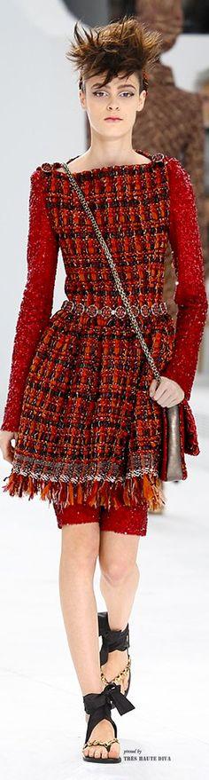 Chanel Haute Couture Fall/Winter 2014-15.