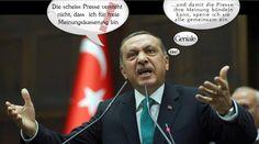 ERDOGAN - Vorkämpfer der Meinungs- und Pressefreiheit !  #erdogan #tuerkei #osmane #toleranz #pressefreiheit #meinungsfreiheit
