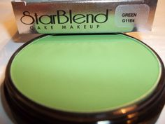 Mehron Green Star Blend Cake Pancake Water Base Stage Makeup Professional #Mehron