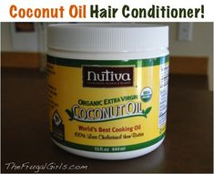 Coconut Oil Leave-In Hair Conditioner! via TheFrugalGirls.com #diy