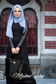 Muslima Wear Turkish Fashion, Islamic Fashion, Muslim Fashion, Modest Fashion, Hijab Fashion, Turkish Style, Modest Outfits, Cute Outfits, Maxi Dress With Sleeves