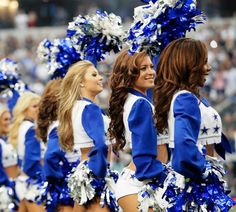 its not allstar but i want to be one Dallas Cowboys cheerleaders