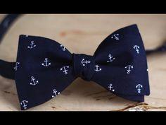 Как сделать галстук-бабочку в подарок на 23 февраля своими руками? Вытворяшки - YouTube