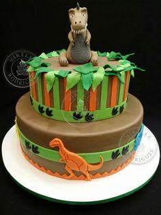bolo eva dinossauro - Pesquisa Google