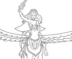 Free Coloring Pages For Kids Printable Unicorn