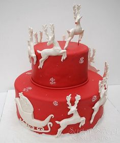 #Christmas #Cake #Idea