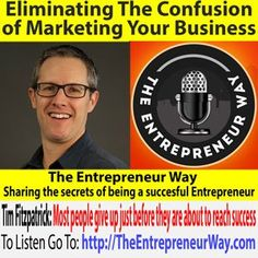 We were honored and excited to chat with Neil Ball of The Entrepreneur Way podcast. We talked about how to eliminate the confusion of #marketing your business. check it out. #entrepreneurship @neilball How To Find Out, How To Make Money, Ledoux, Guerilla Marketing, Co Founder, Social Skills, Fibromyalgia, Helping Others, The Secret