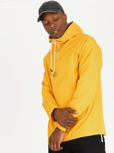 Jano Cagoule Jacket Yellow by STYLE REPUBLIC.