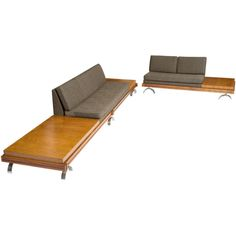 Sectional sofa by Martin Borenstein | From a unique collection of antique and modern sectional sofas at http://www.1stdibs.com/furniture/seating/sectional-sofas/
