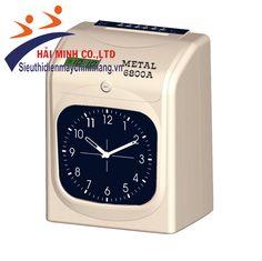 Máy chấm công METAL 6800A được sản xuất trên dây truyền công nghệ của Hàn Quốc màn hình số hiển thị bằng đồng hồ kim truyền thống, với những tính năng tốt hoạt động một cách ổn định, máy chấm công Metal 6800A  được tích hợp Pin lưu trữ, dễ sử dụng phù hợp với nhiều mô hình kinh doanh.