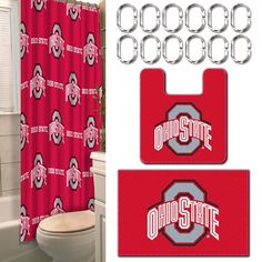 Use this Exclusive coupon code: PINFIVE to receive an additional 5% off the Ohio State Buckeyes 15-Piece Bath Set at SportsFansPlus.com