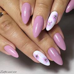 Floral Nail Art, Pink Nail Art, Pink Nails, Pretty Nail Art, Toe Nail Designs, Nails Design, Flower Nails, Stylish Nails, Nail Manicure