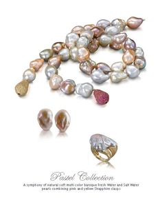Beautiful pearls by Yvel!